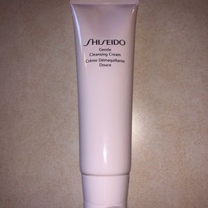 New SHISEIDO cleansing cream